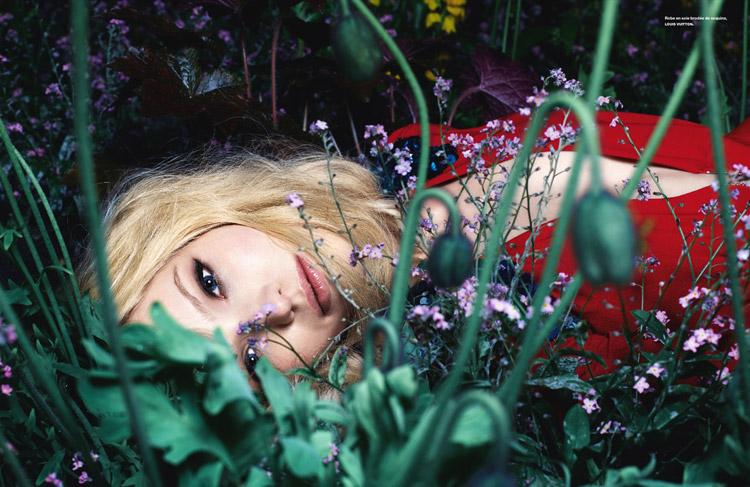 Саша Лусс в июньском Numero 2014