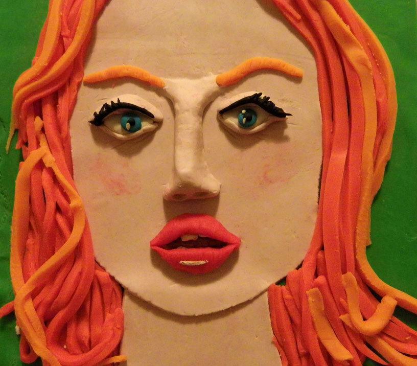 картинки лиц из пластилина система