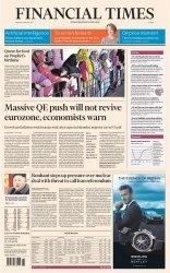 Журнал Financial Times Europe - 5 January 2015