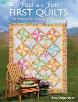 Книга Fast and Fun First Quilts: 18 Projects for Instant Gratification