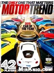 Журнал Motor Trend - January 2015