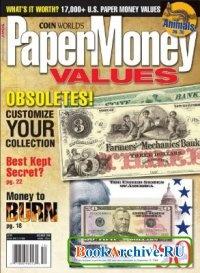 Книга Paper Money Values (December 2008).