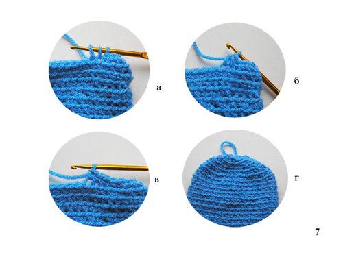 Как связать рукавички крючком очень простым способом