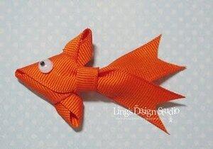 Открытка с золотой рыбкой - мастер-класс