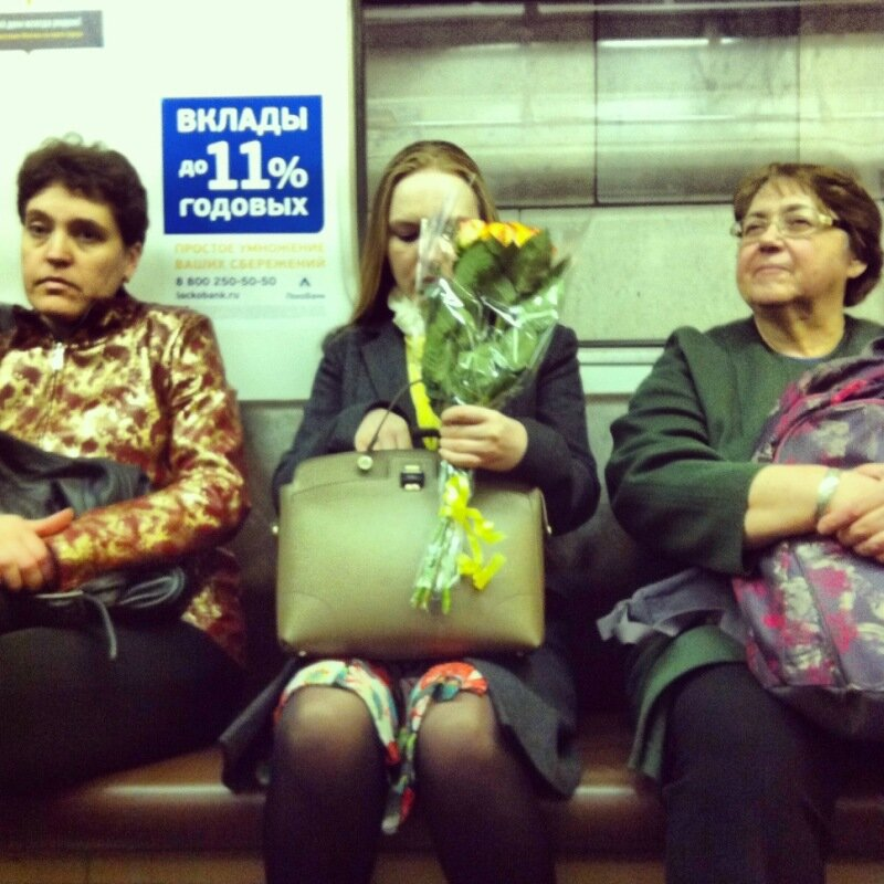 Москвичи и гости столицы