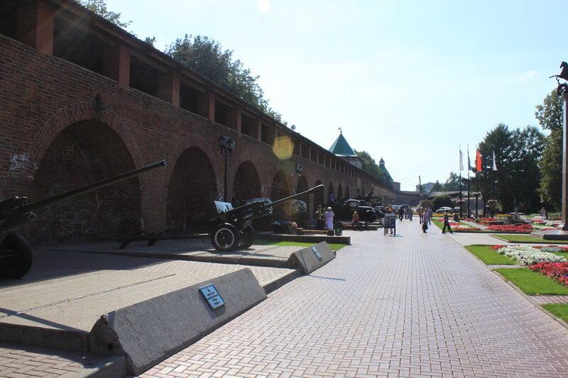 Нижегородский кремль внутри