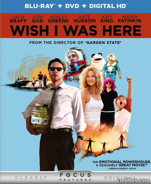 Хотел бы я быть здесь / Wish I Was Here (2014/BDRip/HDRip)