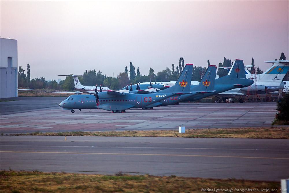 Споттинг в Алма-Ате