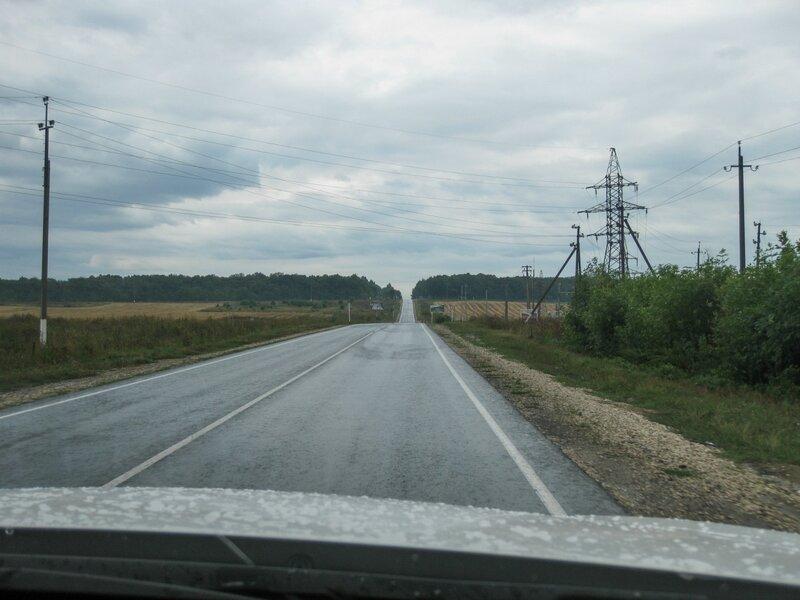 Дорога в Жигулевский заповедник