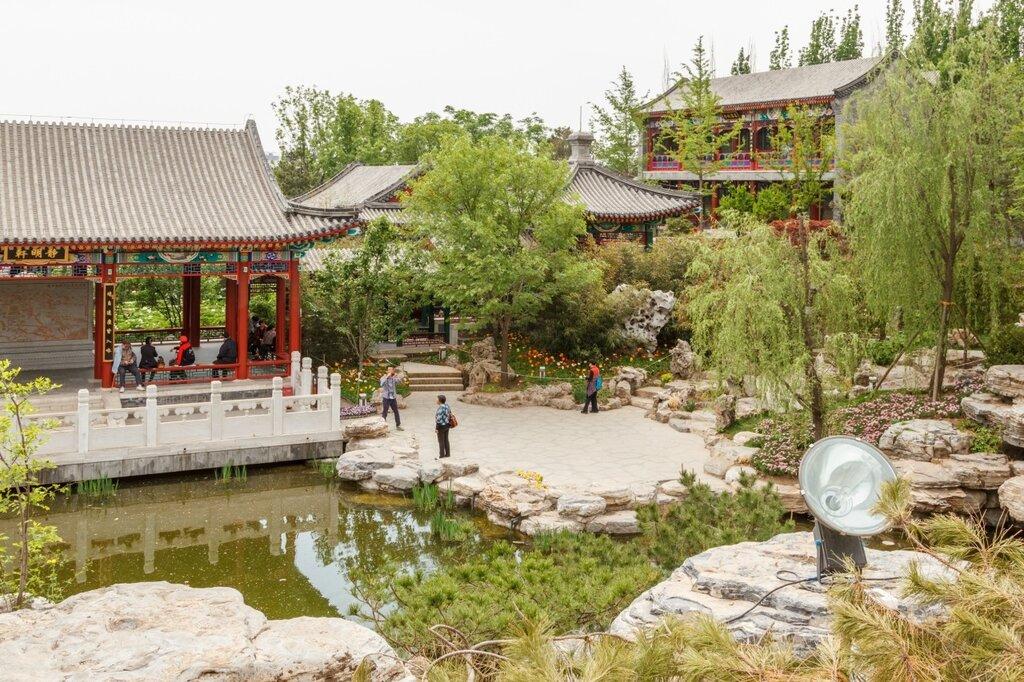 Типичный пекинский сад