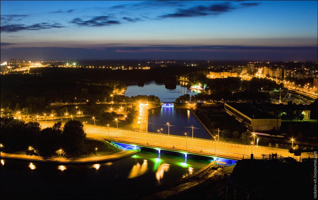 Парк Победы, Комсомольское озеро