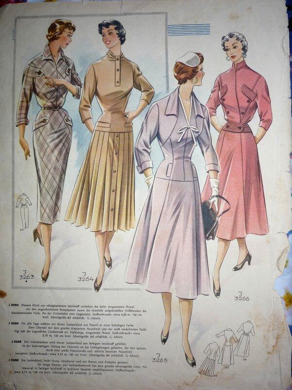 ваших фасоны платьев из немецких журналов мод прайс
