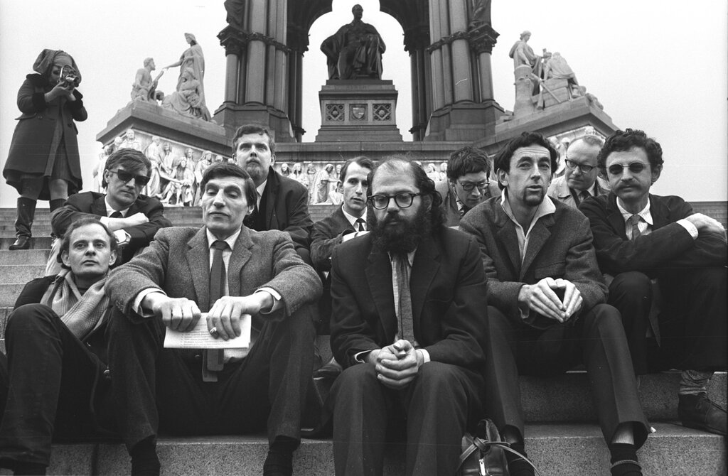 London early June 1965 In town for International Poetry Congress at Royal Albert Hall