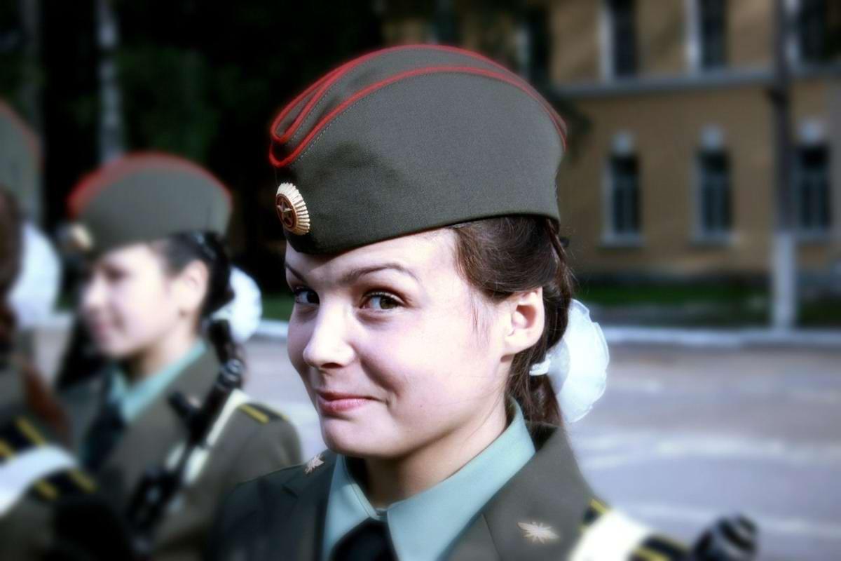 От тайги до британских морей ... : Лица девушек из Российской армии (16)