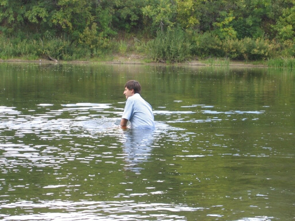 Погреблись крещением