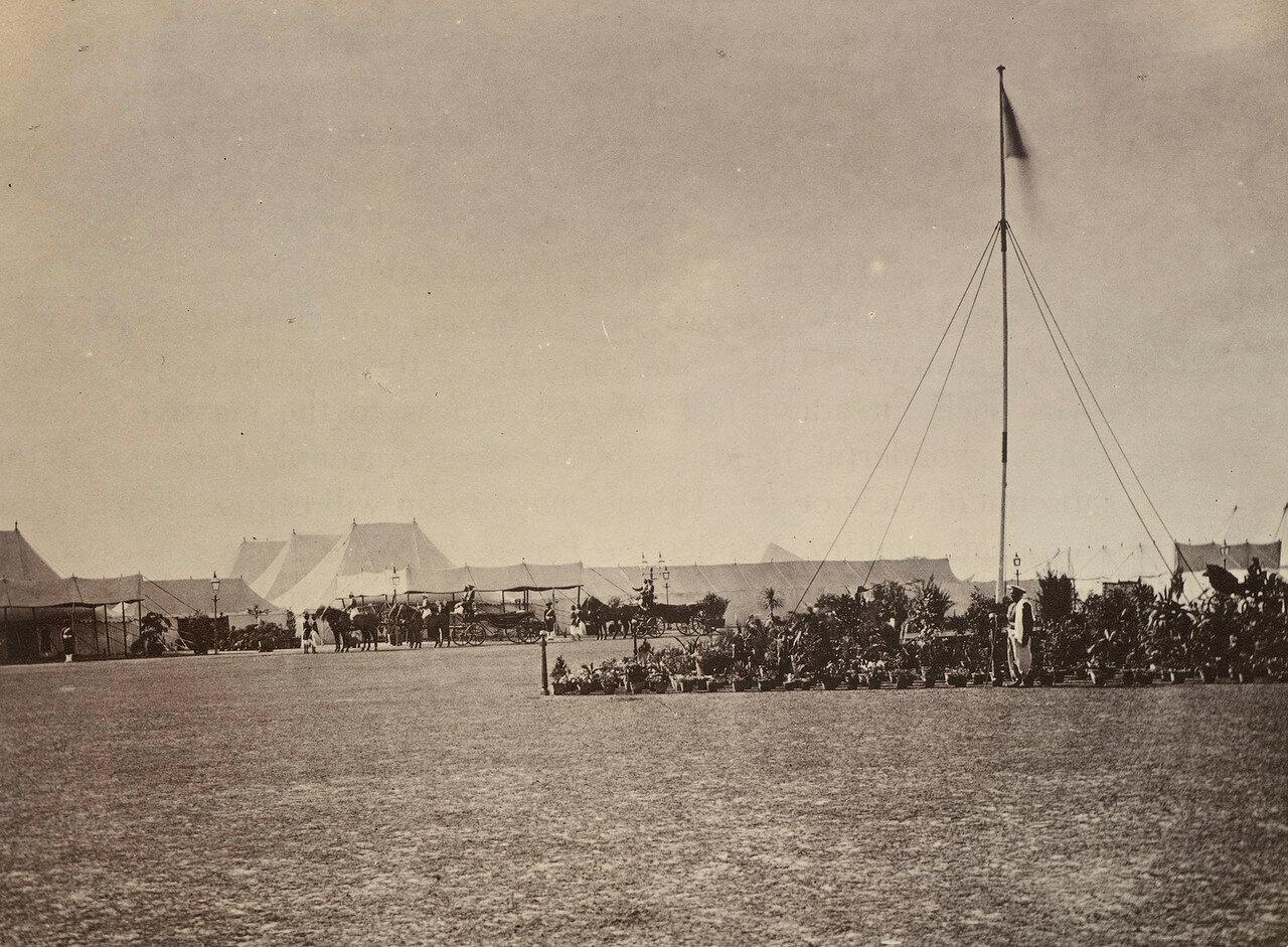 54. Палатка Принца Уэльского в Агре