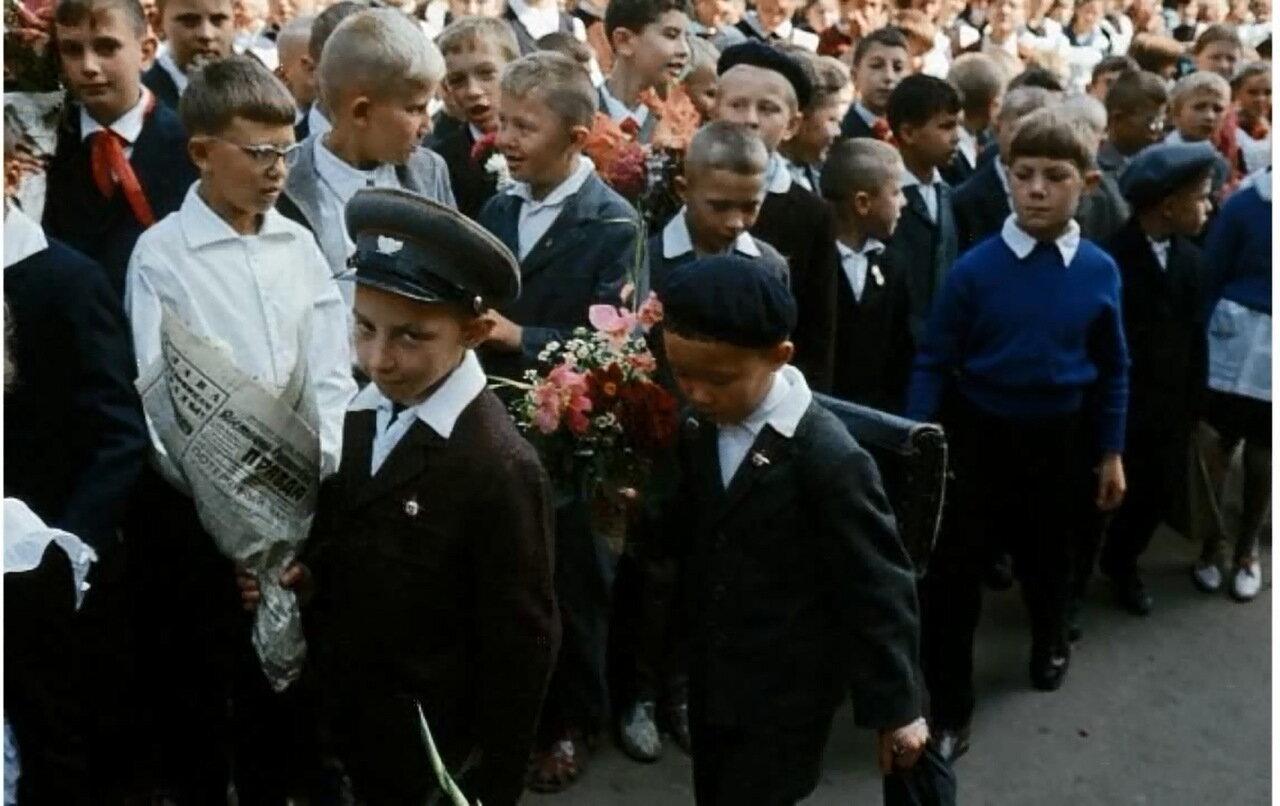 Хабаровск. 1 сентября 1965