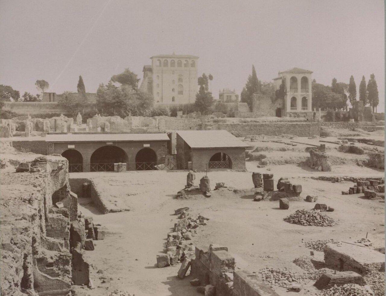 Дворец Тиберия. Храм Кибелы. Храм Януса