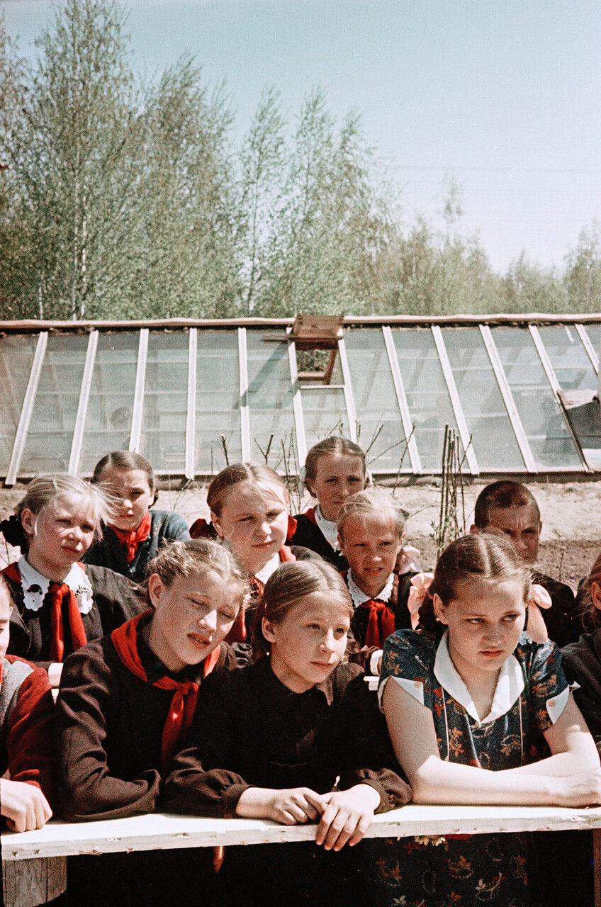 Юннаты села Огурцово