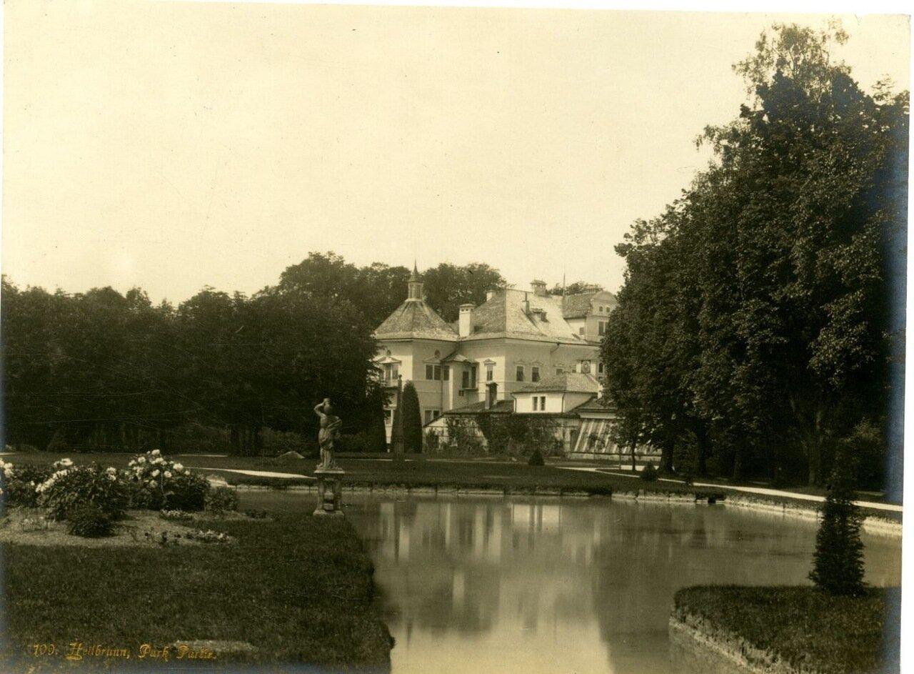 Замок Хельбрунн. Парк