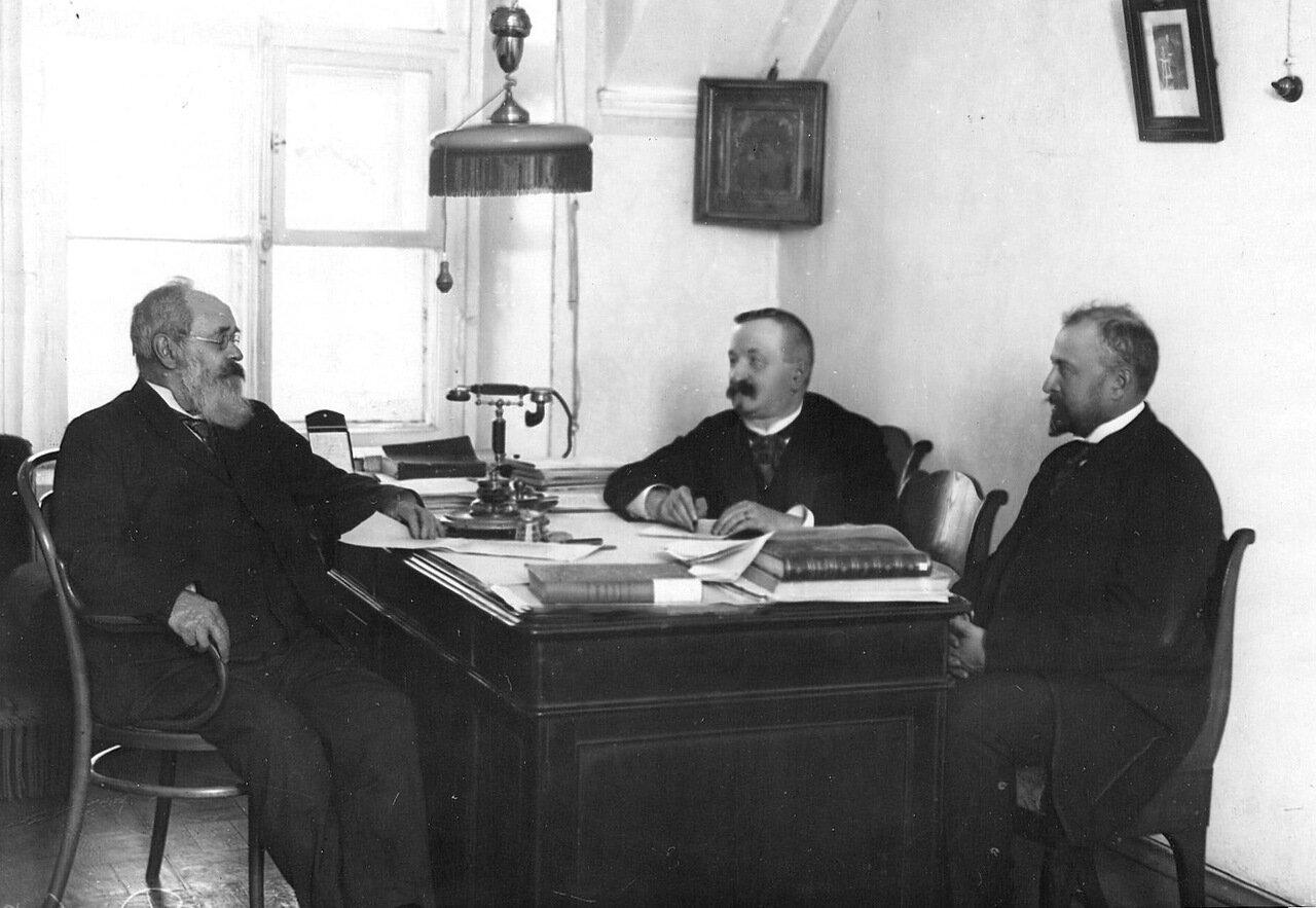 15. Занятия в архиве Сената. 1911