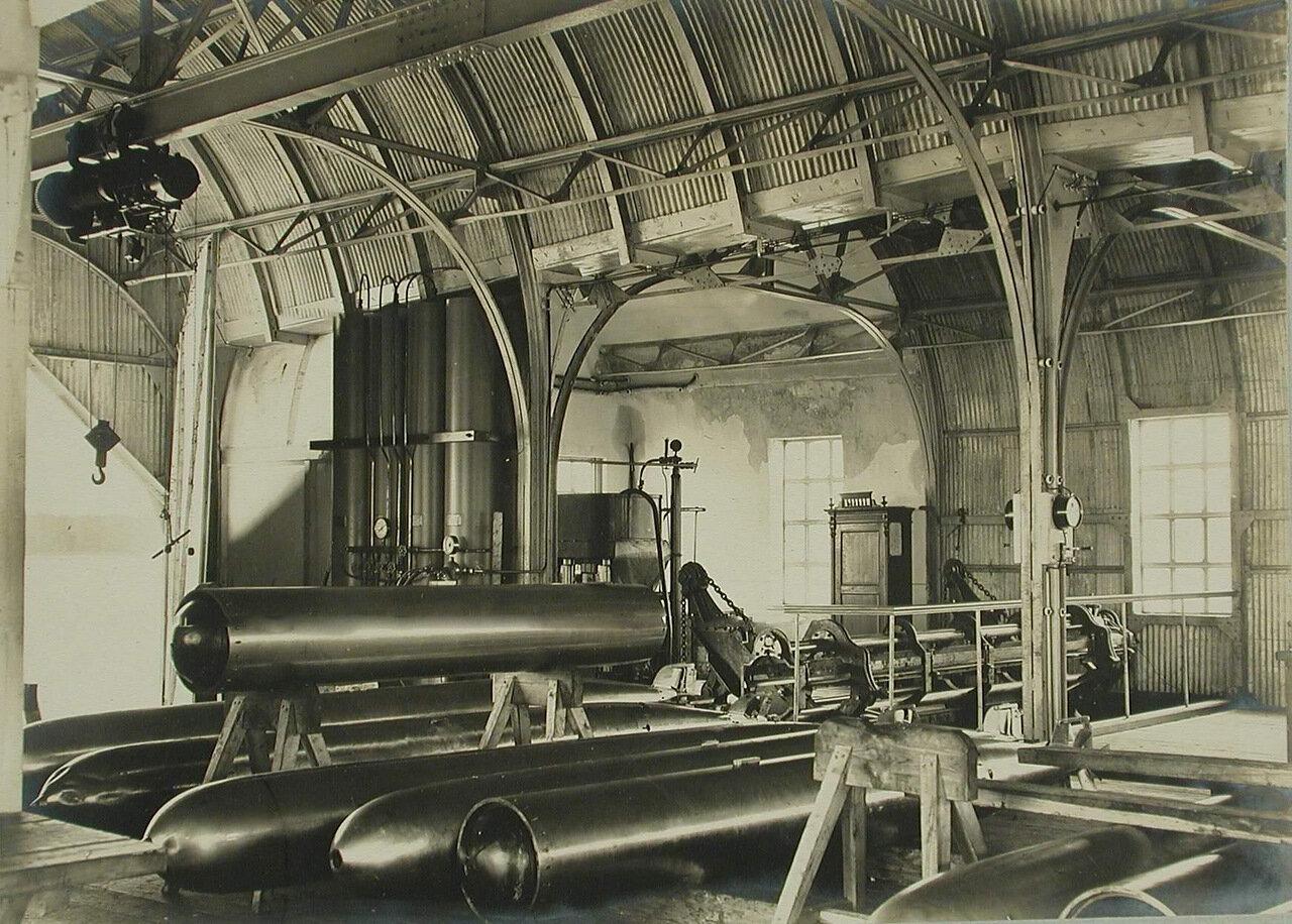 24. Внутренний вид одного из помещений минной пристрелочной станции