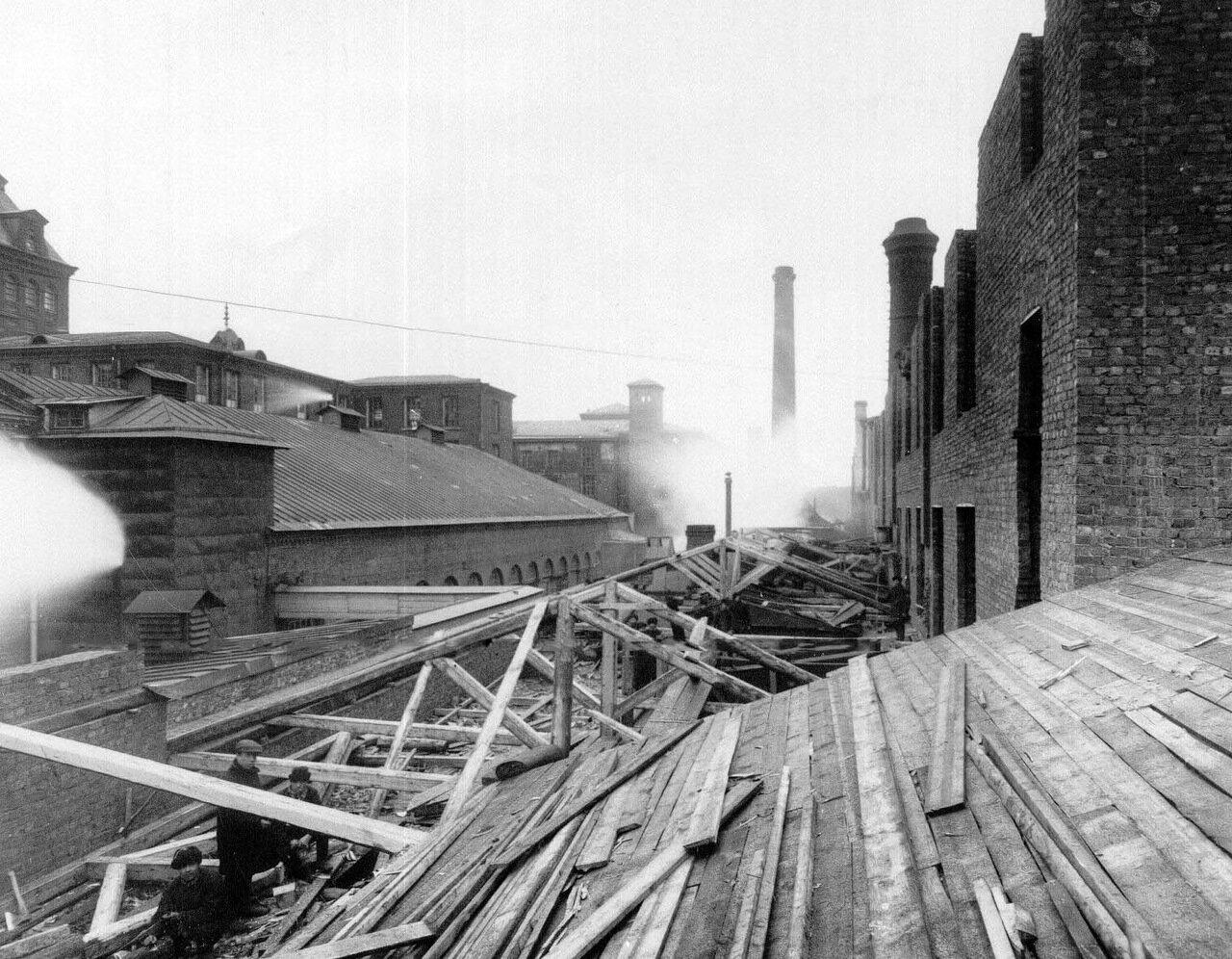 03. Вид строящегося дома. 1914