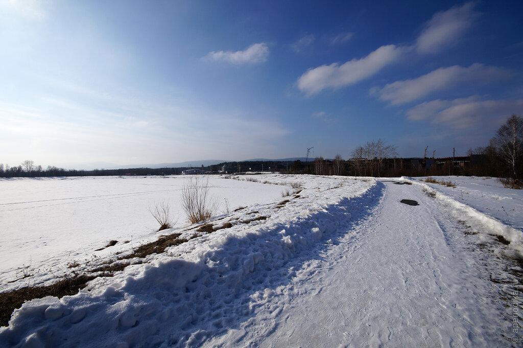 Златоуст. Озеро Тарелка. Весна-2015