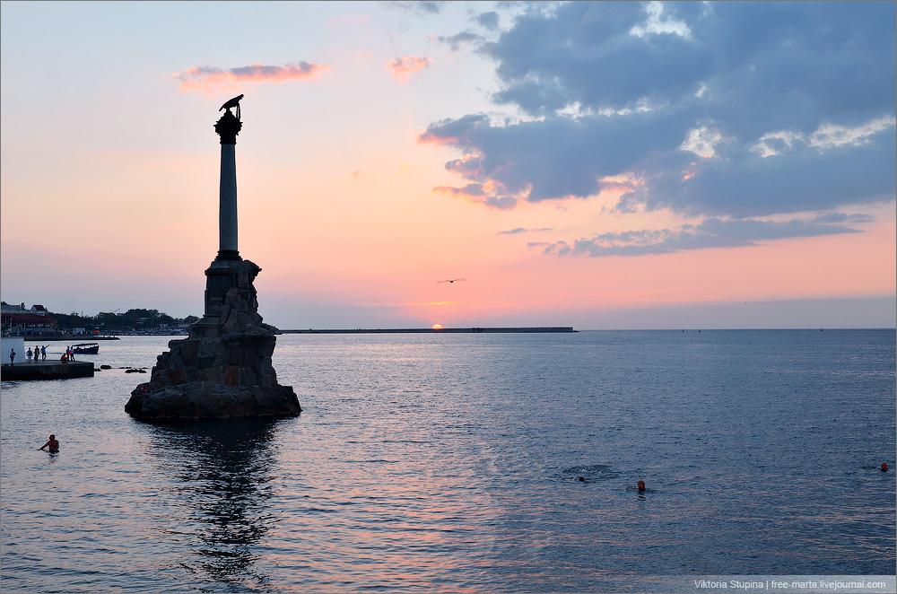 Памятник Затопленым Кораблям