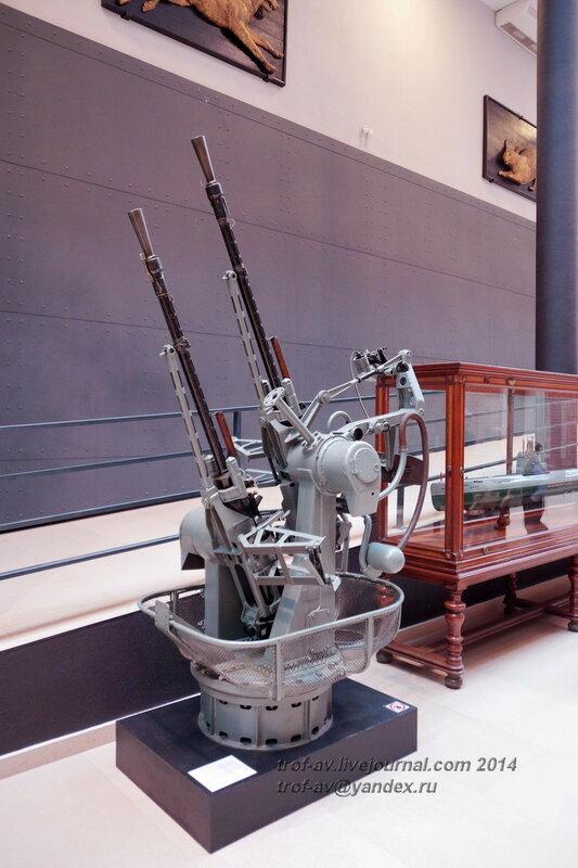 14,5-мм пулемет Владимирова, Центральный военно-морской музей, Санкт-Петербург