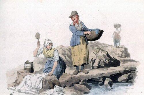 прачечная на реке