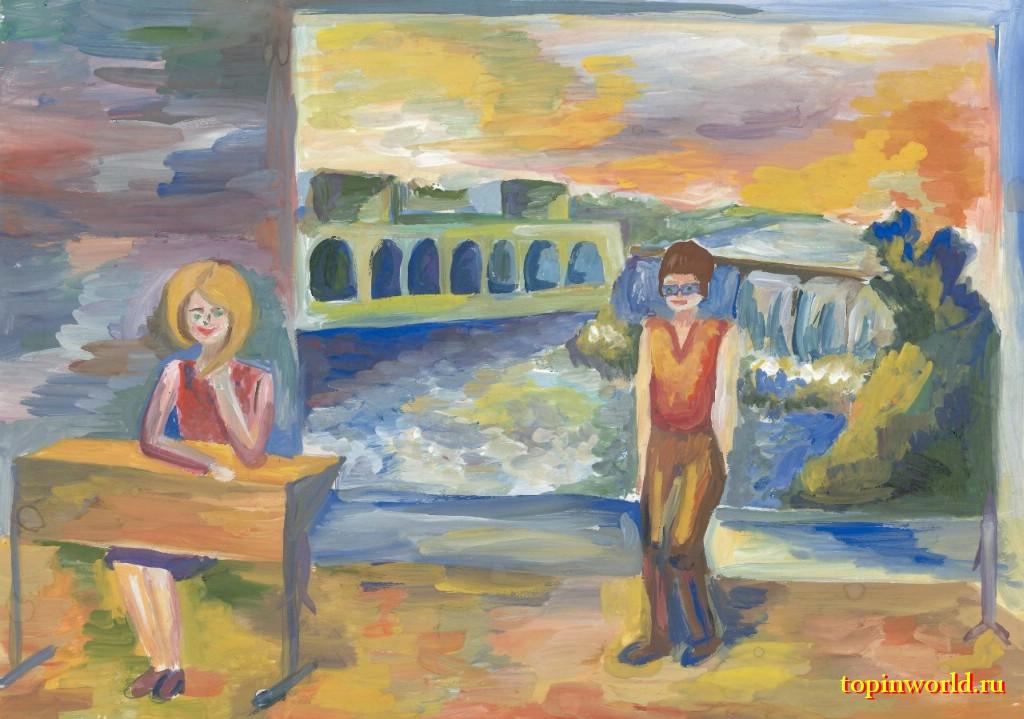 Волховская ГЭС глазами детей