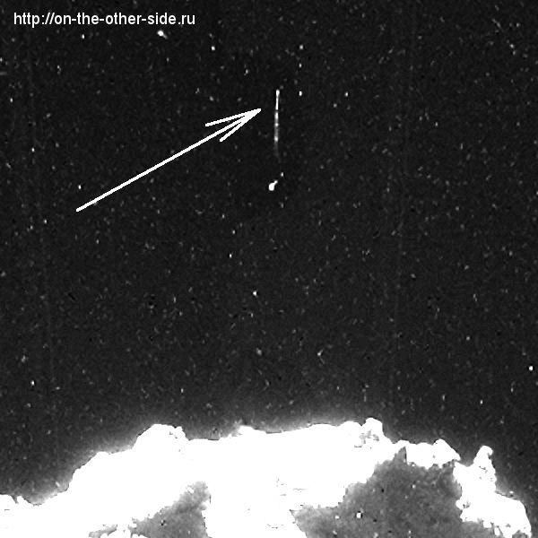 Один из НЛО рядом с ядром кометы 67P/Чурюмова – Герасименко