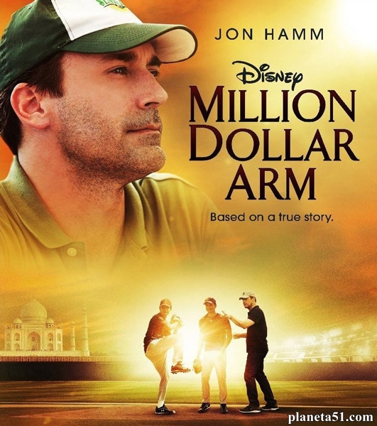 Рука на миллион / Million Dollar Arm (2014/BDRip/HDRip)