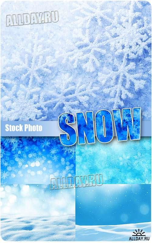 Снег - Растровый клипарт
