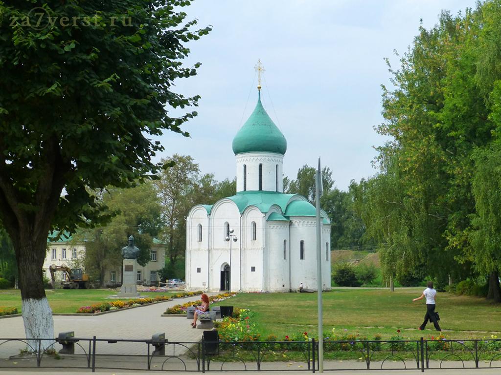 Спасо-Преображенский собор на Красной площади Переславля-Залесского (Ярославская область)