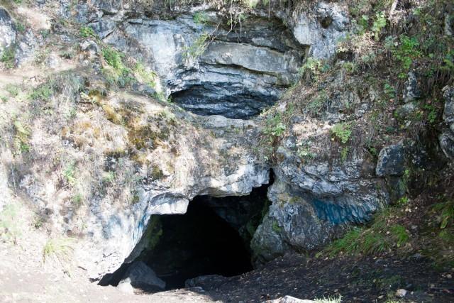 Вход вЛаклинскую пещеру