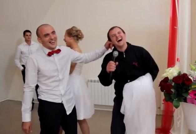 Свадебные игры и развлечения до слёз!