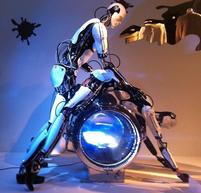 Смотреть секс с роботами 1 фотография