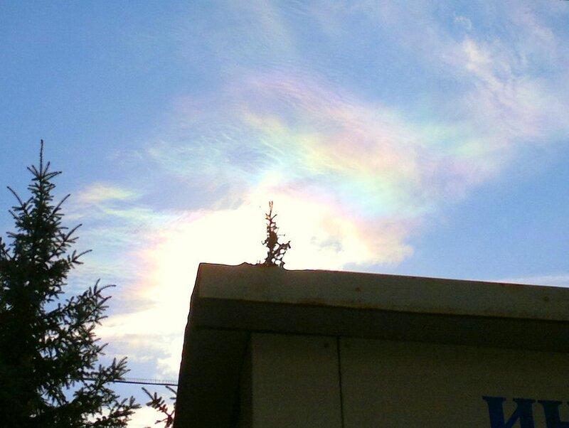 Радужные облака 2011.09.28  12:39