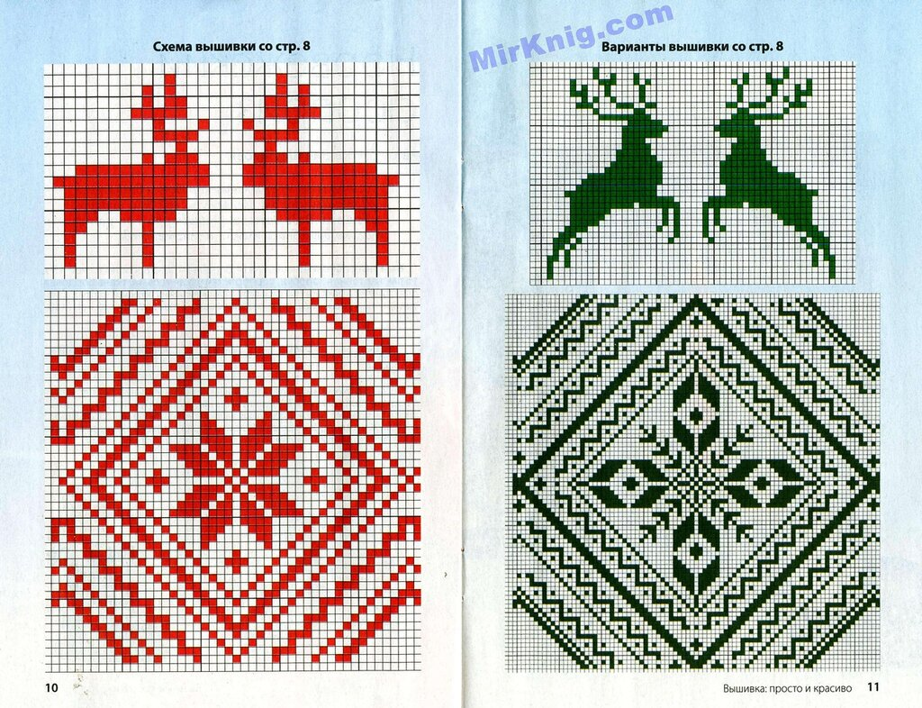 Вязание свитер из двух цветов