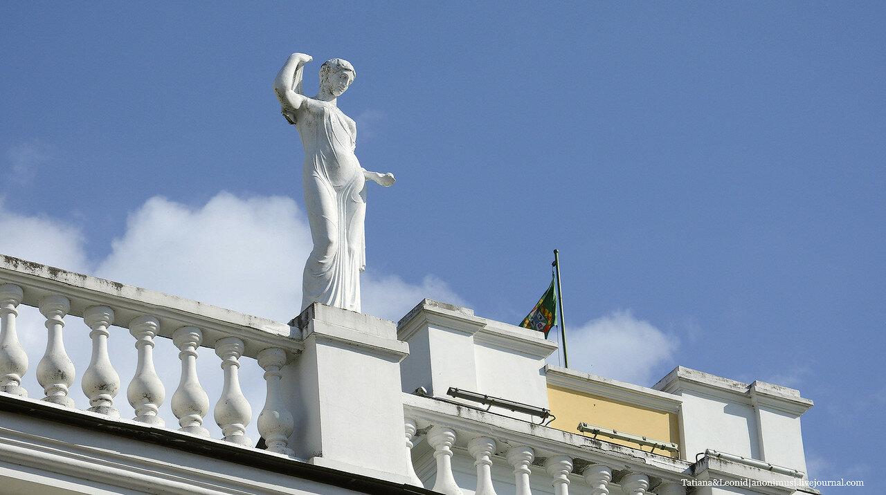 Дворец Румянцевых и Паскевичей. Фасад.