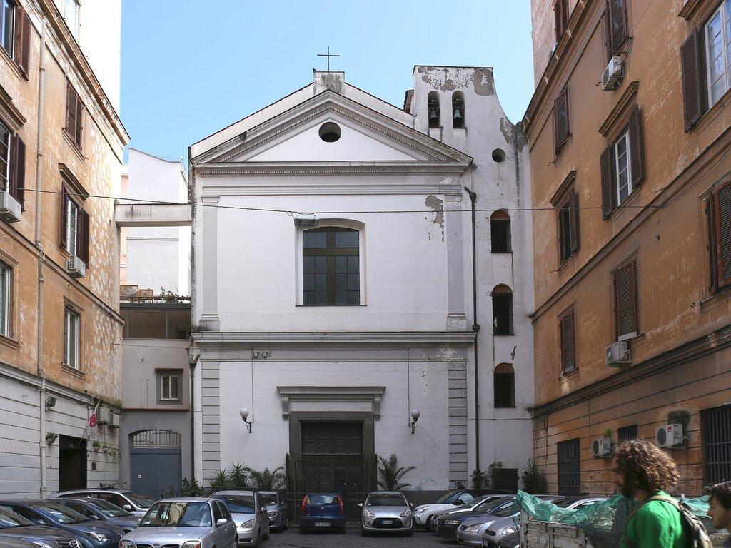 Naples. Church of San onufrio (Chiesa di Sant'onofrio dei Vecchi)