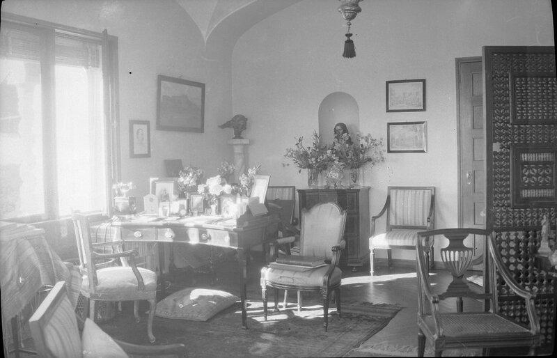 Интерьер замка Соллиден, 1900