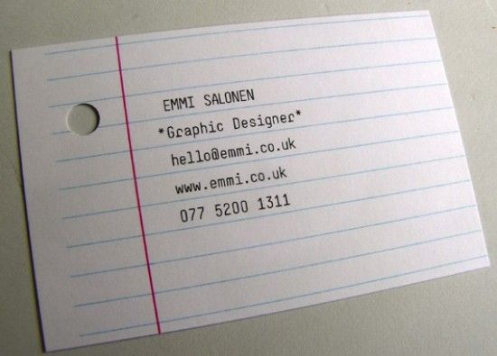[Дизайнерам] Дизайн визиb50ток. 40 лучших, новых и креативных образцов Business Card