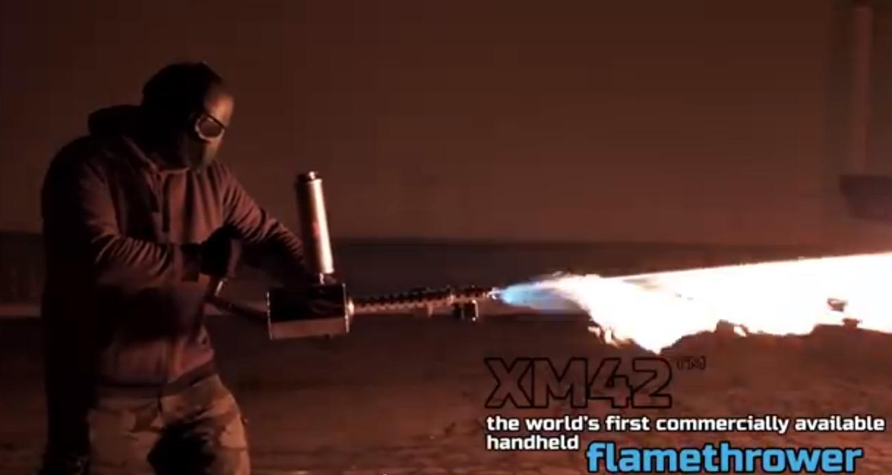 XM42 домашний огнемет