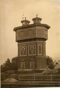 Вид на водонапорную башню у станции. Гродненская губ. Лапы ст.