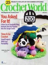 Журнал Crochet World - June 2015