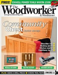 Журнал The Woodworker & Woodturner April 2014