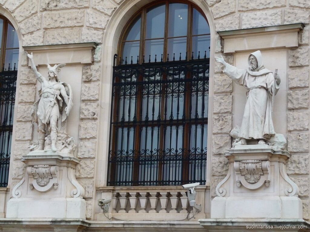 Новый замок, Австрйиская национальная библиотека.